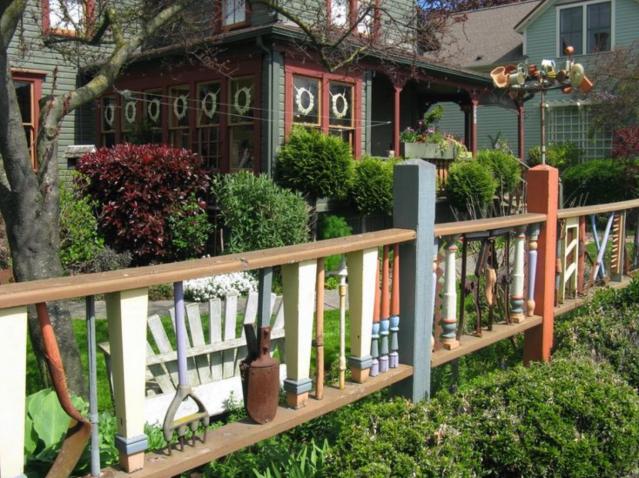Example garden fence